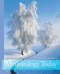 Meteorology Today 9th Edition 9780495555735 0495555738