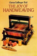 The Joy of Handweaving 2nd edition 9780486234588 0486234584