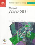 New Perspectives on Microsoft Access 2000 - Comprehensive 1st edition 9780760070901 0760070903