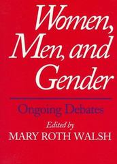 Women, Men, and Gender 0 9780300069389 0300069383