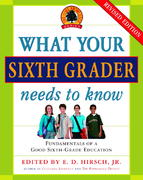 What Your Sixth Grader Needs to Know 0 9780385337328 0385337329