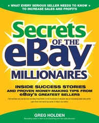 Secrets of the eBay Millionaires 1st edition 9780072262520 0072262524
