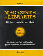 Magazines for Libraries 10th edition 9780835242677 0835242676