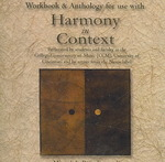 Workbook Audio Example CD set for use with Harmony in Context (reprint) 1st edition 9780072937121 0072937122