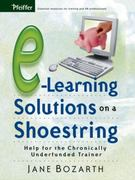 E-Learning Solutions on a Shoestring 1st edition 9780787977122 0787977128