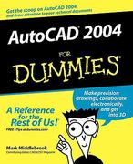 AutoCAD 2004 For Dummies 1st edition 9780764540455 0764540459