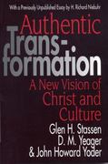 Authentic Transformation 1st Edition 9780687022731 0687022738