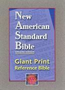 New American Standard Bible Giant Print Reference 0 9781581351101 1581351100