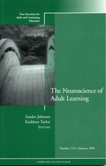 The Neuroscience of Adult Learning 1st edition 9780787987046 0787987042