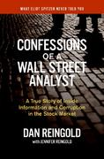 Confessions of a Wall Street Analyst 0 9780060747695 0060747692