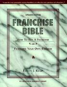 Franchise Bible 3rd edition 9781555713676 155571367X