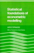 Statistical Foundations of Econometric Modelling 0 9780521269124 0521269121