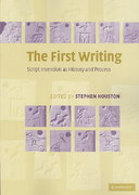 The First Writing 1st edition 9780521728263 0521728266
