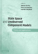 State Space and Unobserved Component Models 0 9780521835954 052183595X