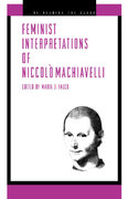 Feminist Interpretations of Niccolò Machiavelli 0 9780271023892 0271023899