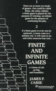 Finite and Infinite Games 1st Edition 9780345341846 0345341848