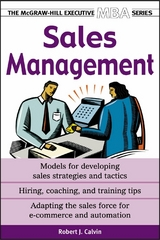 Sales Management 2nd Edition 9780071435352 0071435352