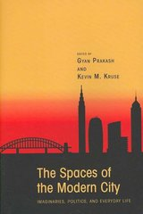 The Spaces of the Modern City 1st Edition 9780691133430 0691133433