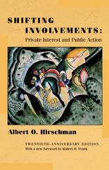 Shifting Involvements 20th edition 9780691092928 0691092923