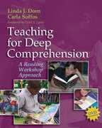 Teaching for Deep Comprehension 1st Edition 9781571108357 1571108351