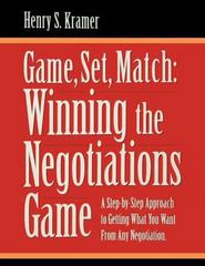 Game, Set, Match 1st Edition 9780970597021 0970597029