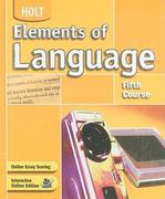Elements of Language 4th edition 9780030686696 0030686695