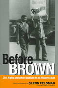 Before Brown 2nd edition 9780817351342 0817351345