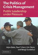 The Politics of Crisis Management 1st Edition 9780521607339 0521607337
