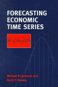 Forecasting Economic Time Series 0 9780521634809 0521634806