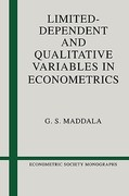 Limited-Dependent and Qualitative Variables in Econometrics 0 9780521338257 0521338255