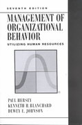 Management of Organizational Behavior 7th edition 9780132617697 0132617692