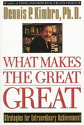What Makes the Great Great 1st Edition 9780385483964 0385483961
