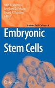 Embryonic Stem Cells 1st edition 9781402059827 1402059825