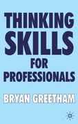 Thinking Skills for Professionals 1st Edition 9780230281554 0230281559