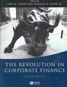 The Revolution in Corporate Finance 4th Edition 9781405107815 1405107812