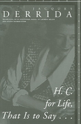 H. C. for Life, That Is to Say... 1st edition 9780804754026 0804754020