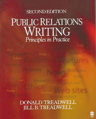 Public Relations Writing 2nd Edition 9781412905510 1412905516