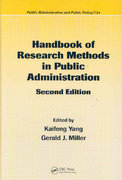 Handbook of Research Methods in Public Administration, Second Edition 2nd edition 9781420013276 1420013270