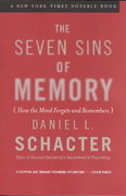 The Seven Sins of Memory 1st Edition 9780618219193 0618219196