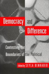 Democracy and Difference 1st Edition 9780691044781 0691044783