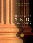 The Law of Public Communication 2008 7th Edition 9780205484676 0205484670