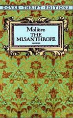 The Misanthrope 1st Edition 9780486270654 0486270653