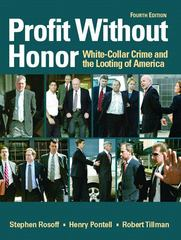 Profit Without Honor 4th Edition 9780131722323 0131722328