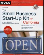 The Small Business Start-up Kit for California 7th edition 9781413307580 1413307582