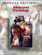 Adolescent Psychology 5th Edition 9780073516103 0073516104