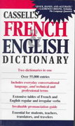 Cassell's French and English Dictionary 1st Edition 9780020136804 0020136803