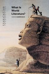 What Is World Literature 1st Edition 9780691049861 0691049866