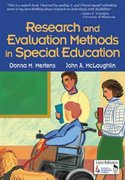 Research and Evaluation Methods in Special Education 1st edition 9780761946533 0761946535