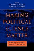 Making Political Science Matter 0 9780814740330 0814740332