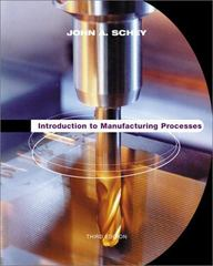 Introduction to Manufacturing Processes 3rd edition 9780070311367 0070311366